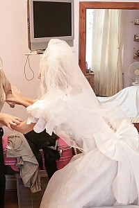 Bride Stephanie Gets Very Sick And Beats Kaz B