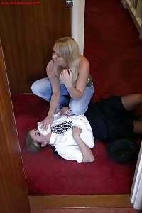 Policewoman Karen Wood Tied To A Toilet By Abigail Toyne