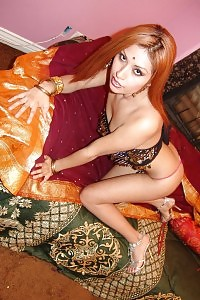 Outstanding Indian Ghetto Roopa Strips Down On A Giant Cock While She Stuffs Her Throat Full Of Dick